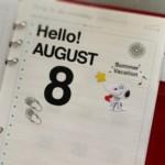 Hello! AUGUST